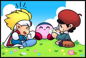 Kirby's adventure break