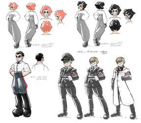 Doria Character Studies
