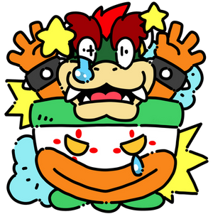 SMW BOWSER - OUCH!
