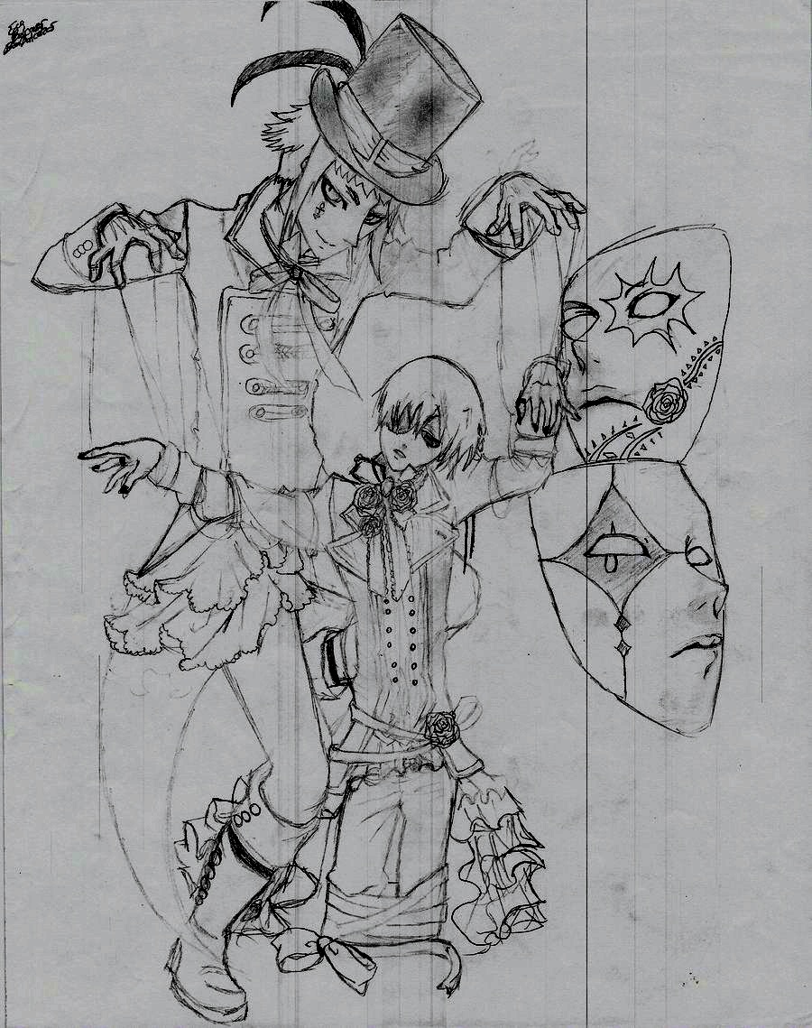 Master Anime Drawing Anime Puppet Master Drawings