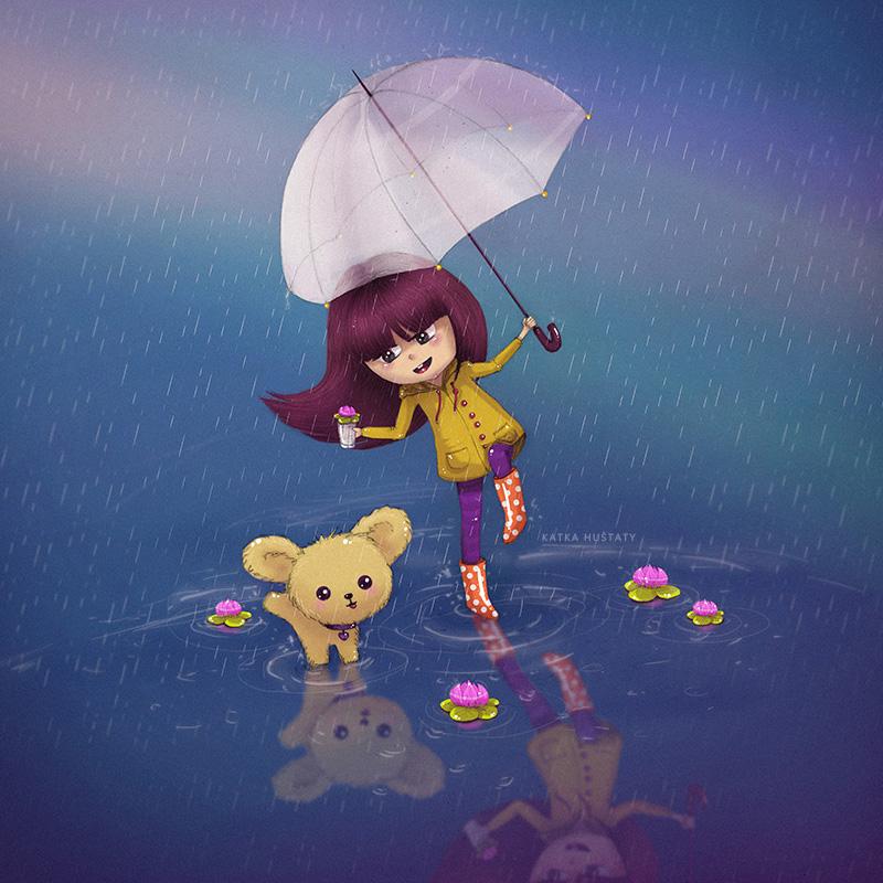 rain by molokolo