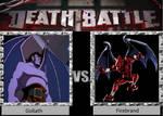 Death Battle: Goliath vs. Firebrand