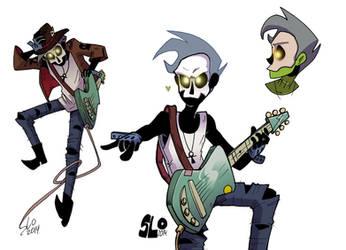 Zombie Gambler