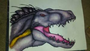 WaterColor indoraptor