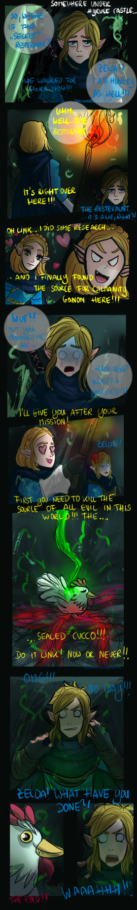 The source of all evil in Hyrule