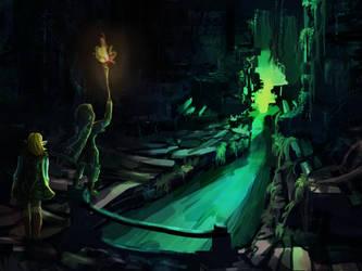 Follow me into the dark by RainbowPhilosopher
