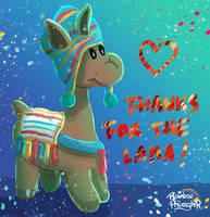 Lama by RainbowPhilosopher