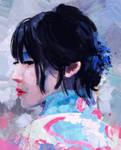 Photostudy Geisha