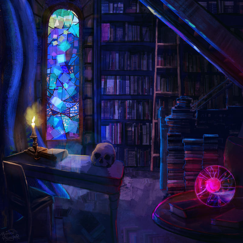 The wizards room
