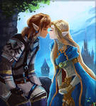 King and queen of Hyrule
