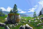 Rock study for PleinAirpril