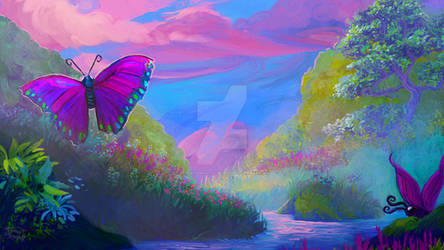 When butterflys ruled the world... by RainbowPhilosopher