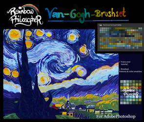 October Tier 1 - Rainbows Van Gogh Style by RainbowPhilosopher