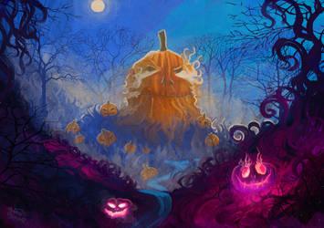 Hello Mister Halloween by RainbowPhilosopher