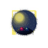 Moon by Piirustus