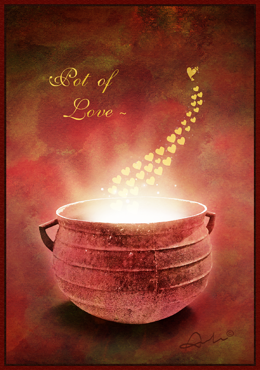 pot of love by aimelle-art