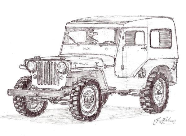 1948 willys jeepgonoles on deviantart