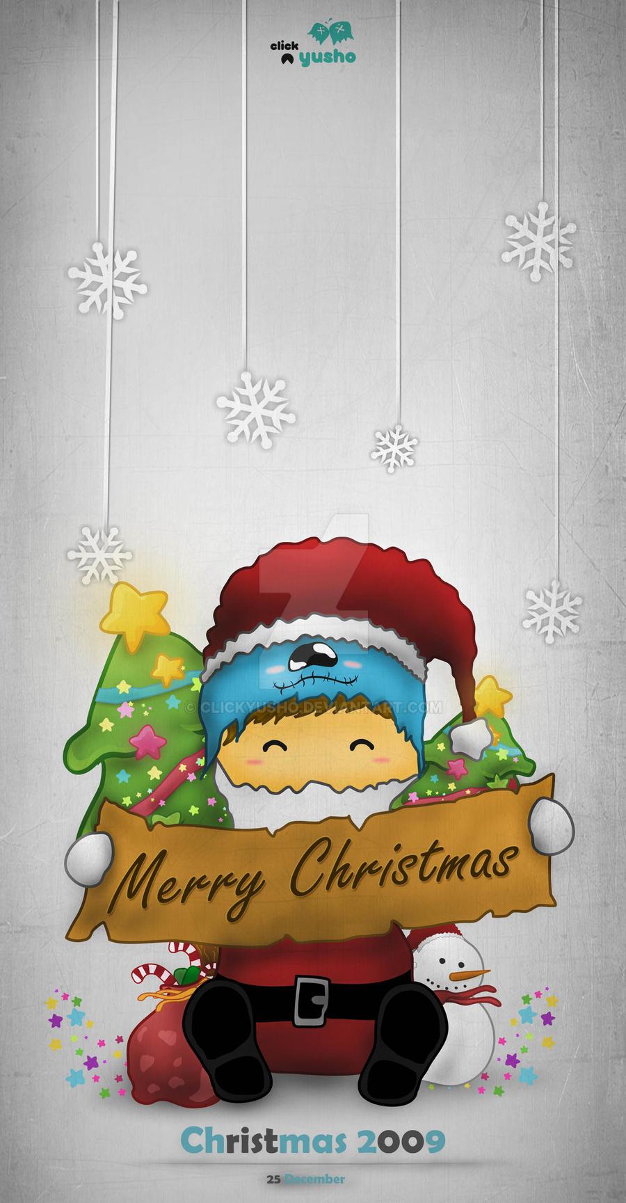 Santa Xmas by clickyusho
