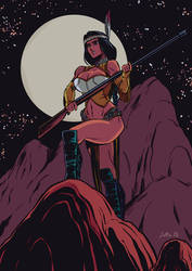 Night Huntress by PedroSotto