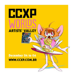 See you at the CCXP Worlds!