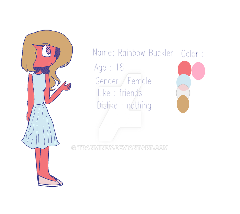 Rainbow buckler ref by tranmindy