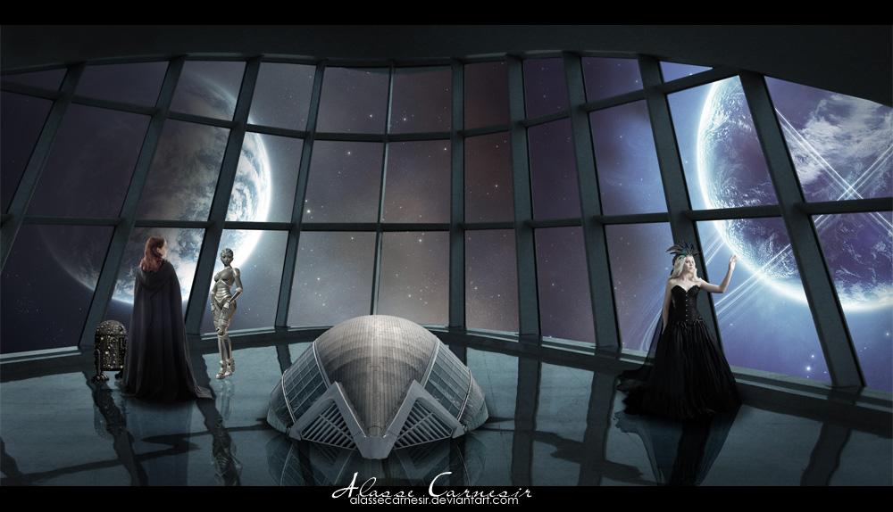 The New World by AlasseCarnesir