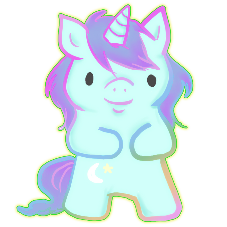cute unicorn by ilichu on DeviantArt