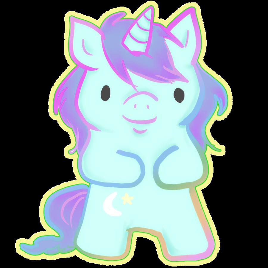 cute unicorn by ilichu on DeviantArt