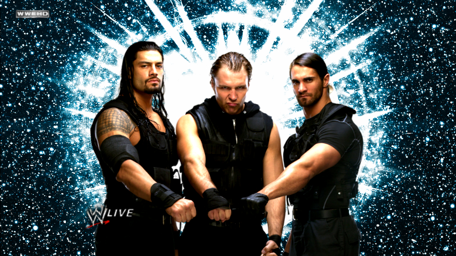 wwe the shield wallpaper by carnage1168 by carnage1168