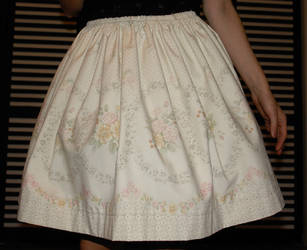 Floral skirt by zeloco