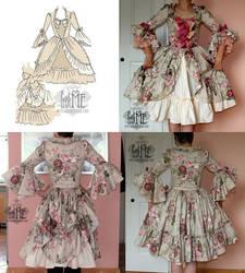 Rococo lolita dress by zeloco