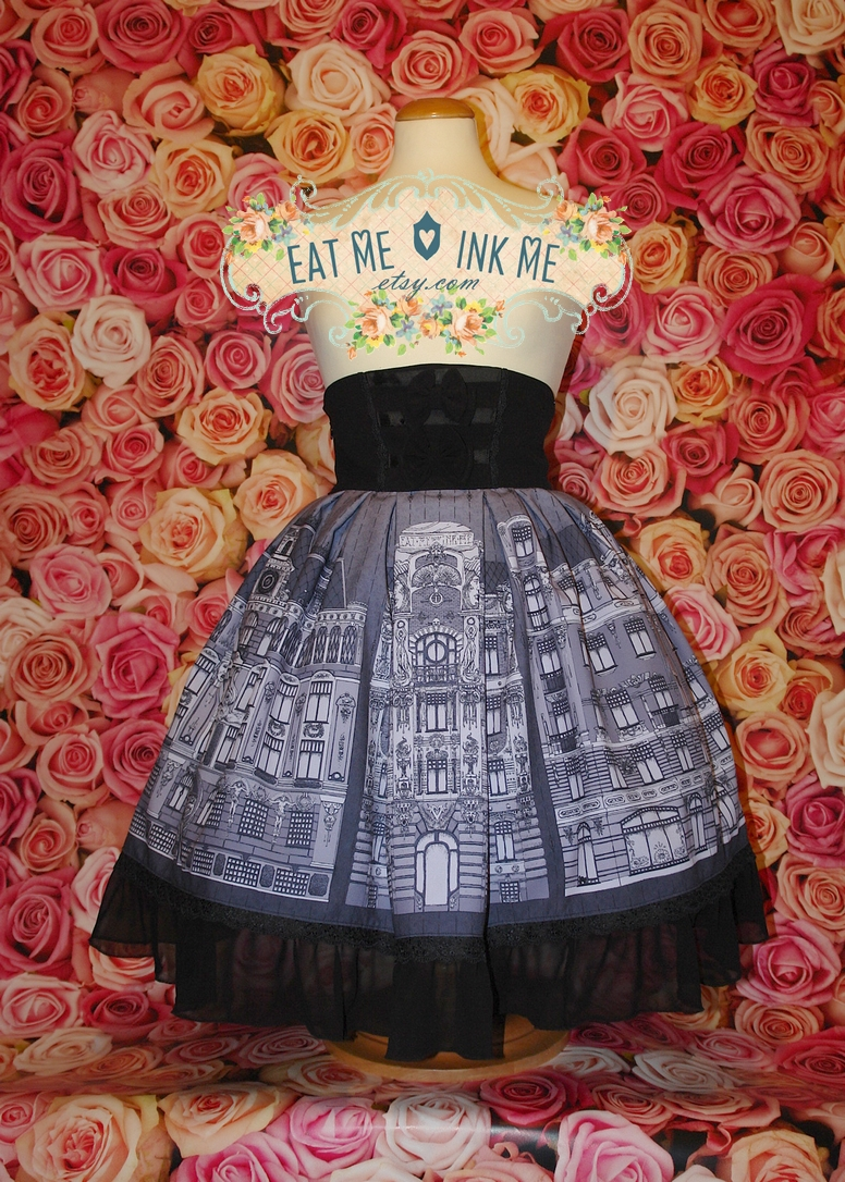 Alberta high waist skirt by zeloco