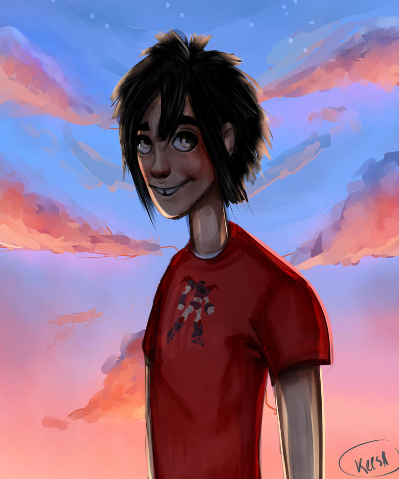 Hiro in the Sky by k-eesri