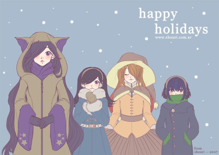 happy holidays by ShouriMajo