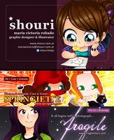 Shouri business cards 2012 by ShouriMajo