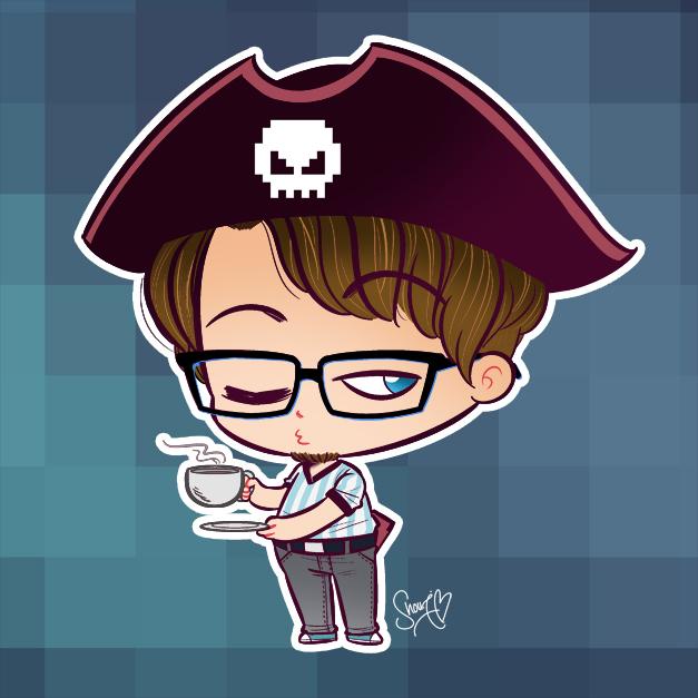 Geek Pirate by ShouriMajo