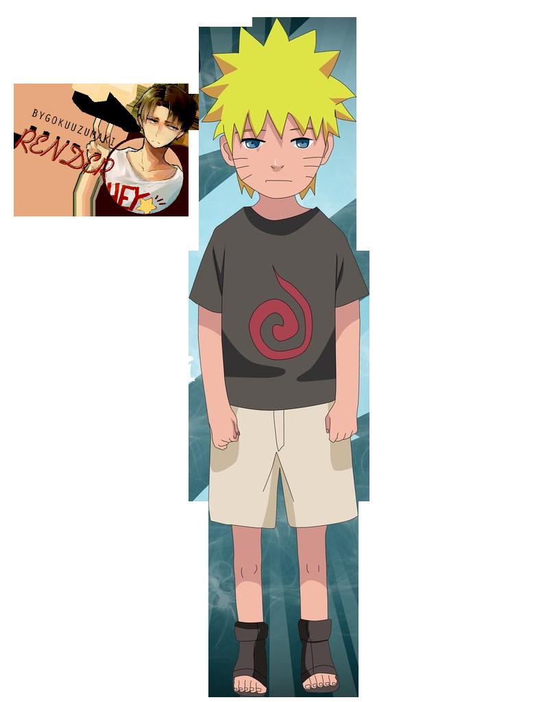 Render Naruto Kid #4 by ByGokuUzumaki on DeviantArt