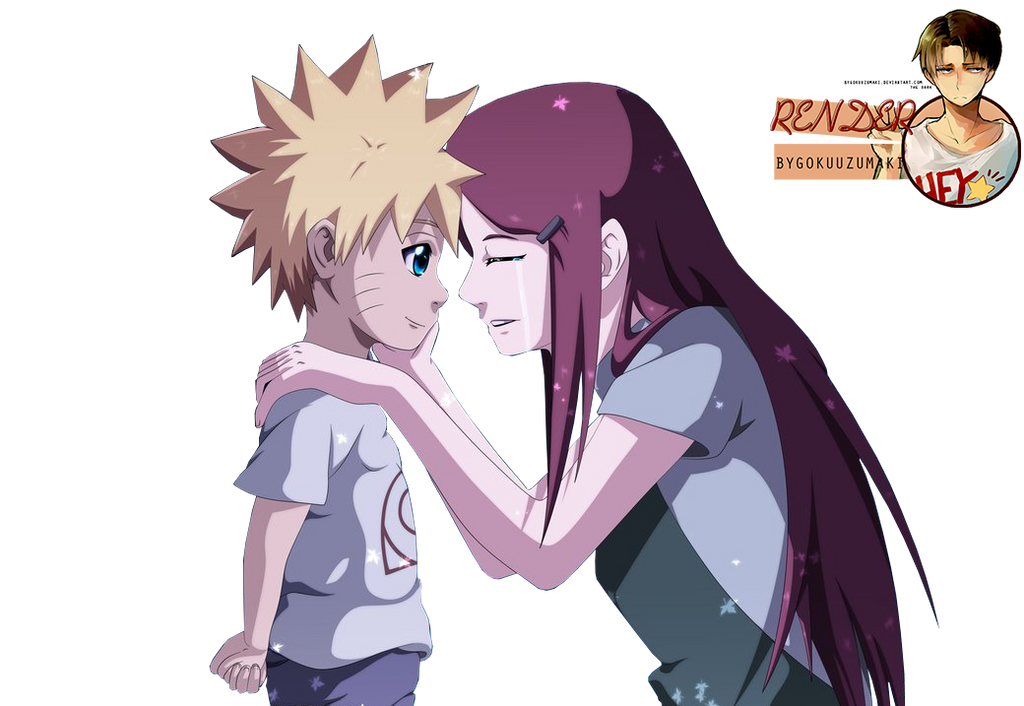 Render Naruto And Kushina By ByGokuUzumaki On DeviantArt
