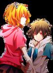 Momo Y Hibiya [Render]