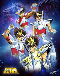 Evolucion de Seiya/Seiya Evolution by triciox