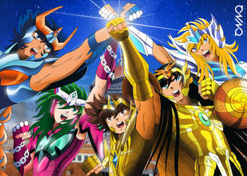 Saint Seiya: Legendary Bronze Saints (Omega ver.) by triciox
