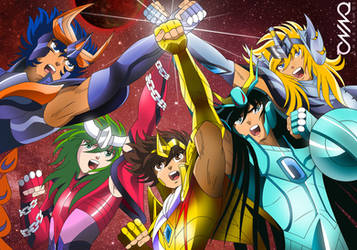 Saint Seiya: Legendary Saints (Cloth Stones ver.) by triciox