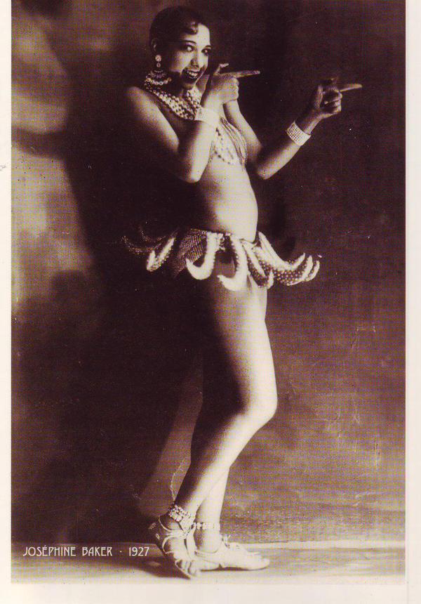 Josephine Baker by PostcardsStock