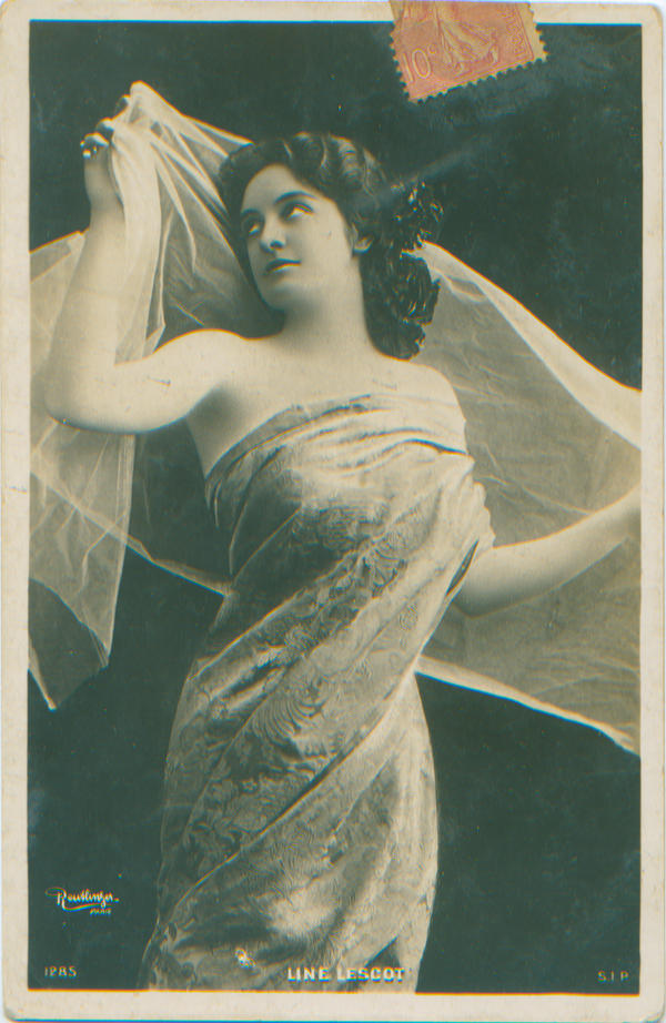 Love card 1906 by PostcardsStock
