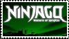 Ninjago stamp by Kai-TheDragon