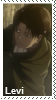 AoT Levi stamp by Kai-TheDragon