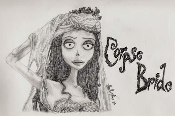 The Corpse Bride by WanderingChild