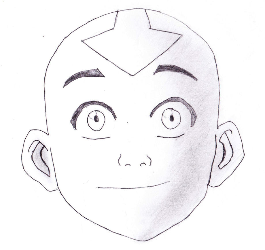 Avatar Aang Drawings: Avatar The Last Airbender By Tehlildevil On DeviantArt