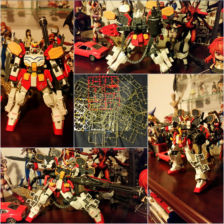 Heavy Arms Gundam Zero 3 Photo Collage by kykiske20022003