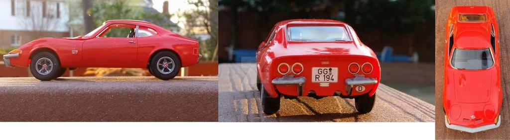 Opel GT model car by kykiske20022003